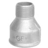 Køb Spidsmuffe galvaniseret reduktion muffe/nippel 3X2 1/2
