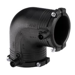 Køb +GF+ ELGEF Plus el vinkel 90° 63 mm PN16 PE100-SDR11 | 078301064