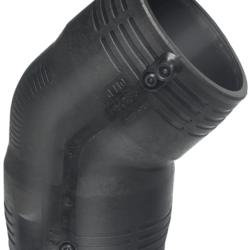 Køb +GF+ ELGEF Plus el vinkel 45° 75 mm PN16 PE100-SDR11 | 078308076
