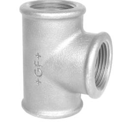 Køb Tee galvaniseret 1/2x1/4x1/2   130425