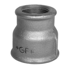 Køb Formmuffe sort reduktion 2X1 1/2 | 240167