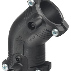 Køb +GF+ ELGEF Plus el vinkel 45° 63 mm PN16 PE100-SDR11 | 78303064
