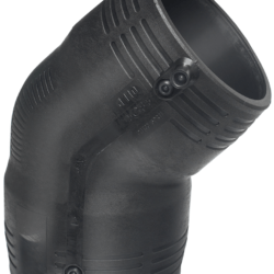 Køb +GF+ ELGEF Plus el vinkel 45° 75 mm PN16 PE100-SDR11 | 78308076
