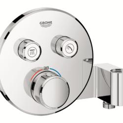 Køb Grohtherm SmartControl termostat udvendig del rund 2SC