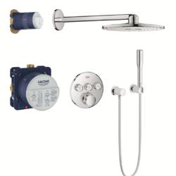 Køb Grohtherm SmartControl bundle termostat rund 3SC
