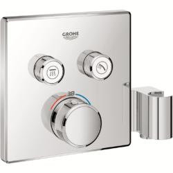 Køb Grohtherm SmartControl termostat udvendig del firkant 2SC