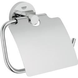 Køb GROHE Essentials toiletrulleholder med låg | 776454154