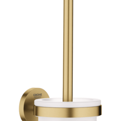 Køb GROHE Essentials toiletbørste sæt børstet cool sunrise | 778452168