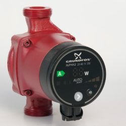 Køb Grundfos pumpe ALPHA2 20-40 N 150 mm | 380450040