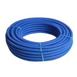 Køb HENCO ALUPEX-rør med tomrør blå Ø16X2