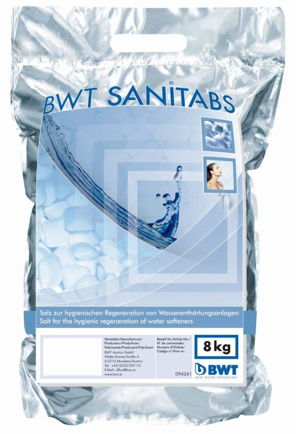 Køb BWT salttabs t/blødgøringsanlæg | 980418249