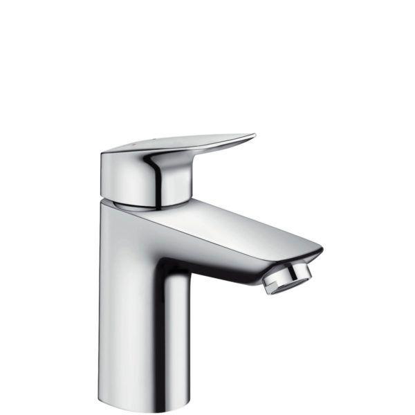 Køb hansgrohe Logis 1-grebs håndvaskarmatur 100 med løft-op ventil | 702054104