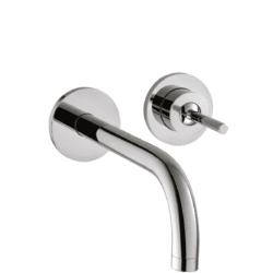 Køb AXOR Uno2 2-huls håndvaskarmatur 225 mm tud uden bagplade | 702488204