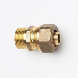 Køb Overgangs nippel kompression TA 12X1/2 PN10 | 045160132