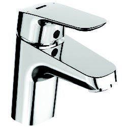 Køb Børma Ceraflex håndvaskarmatur med push open bundventil krom   701406304