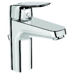 Køb Børma Ceraflex BlueStart håndvaskarmatur med træk-op bundventil krom   701917004