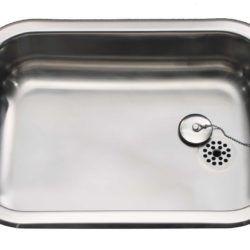 Køb Intra Juvel køkkenvask BA5016-R41 500 x 400 mm rustfri stål | 681191120