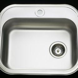 Køb Intra Juvel køkkenvask BK480B1-R02 480 x 340 mm rustfri stål | 681216140