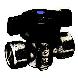"""Køb Kemper 1"""" VAV kugleventil i korrosionsbestandig rødgods"""