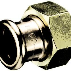"""Køb Kemper 1"""" forskruning med 22 mm """"M-press"""""""