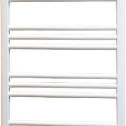Køb Kriss Skandi håndklæderadiator 950 x 500 mm hvid plan