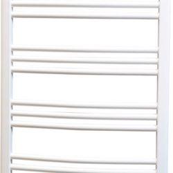 Køb Kriss Skandi håndklæderadiator 950 x 500 mm hvid buet