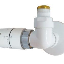 Køb Kriss Corner Rum komplet ventilsæt hvid (RAL9016)   330870020