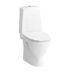 Køb Laufen Pro-N toilet skjult S-lås høj model 46 cm hvid LCC uden sæde