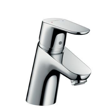 Køb hansgrohe Focus 1-grebs håndvaskarmatur 70 med bundventil | 702122004