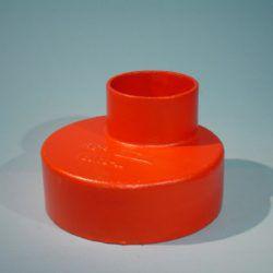 Køb SML Støbejernsreduktionsrør 100X50 mm | 150761397