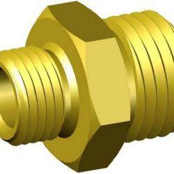 Køb Brystnippel 8X10 mm X 1/4X3/8 messing | 368508108