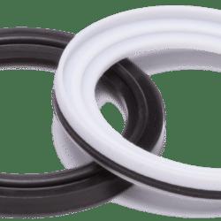 Køb Clamp pakning DS/ISO PTFE/EPDM Ø76 i poser a 5 stk