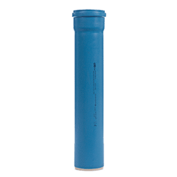 Køb Dblue Ø50 mm X 150 mm Rør Med Muffe | 183311050