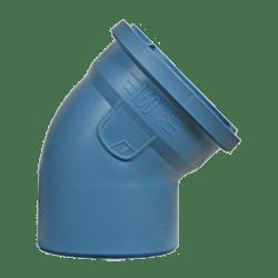 Køb Dblue Ø160 mm X 45° Bøjning | 183322160