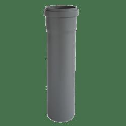 Køb Ht-Pp (Amax Pro) Ø110 mm X 1000 mm grå afløbsrør   186027100
