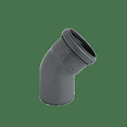 Køb Ht-Pp (Amax Pro) Ø110 mm X 45° Grå Bøjning   186154110