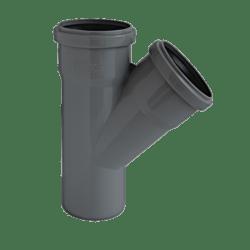 Køb Ht-Pp (Amax Pro) Ø110 mm X 75 X 45° Grå Gren   186381108