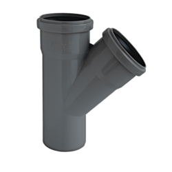 Køb Ht-Pp (Amax Pro) Ø110 mm X 110 X 45° Grå Gren   186381110