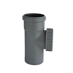 Køb Ht-Pp (Amax Pro) Ø110 mm Renserør M/Dæksel   186482110