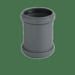 Køb Ht-Pp (Amax Pro) Ø110 mm grå dobbeltmuffe | 186553110