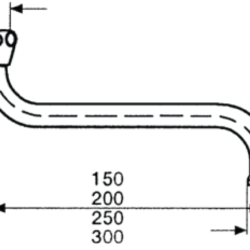Køb Neoperl svingtud prio flex universal S 250 mm | 728009825