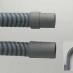 Køb Neoperl afløbsslange h-flex 2500 mm grå | 747495025