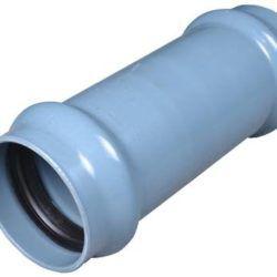 Køb Skydemuffe wavin pvc 50 mm PN10 | 064262050