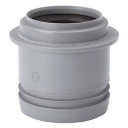 Køb 50/32 mm WAFIX PP Reduktion kort grå | 186510048
