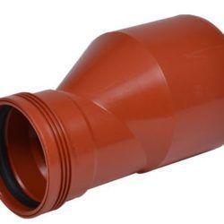 Køb 160x110 mm reduktion Wafix PP rød | 195073157