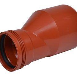 Køb 200x160 mm reduktion Wafix PP rød | 195073198