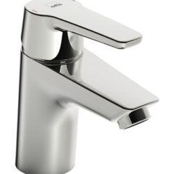 Køb Oras Saga 3910F håndvaskarmatur uden bundventil med flexslanger | 701240504