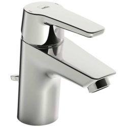 Køb Oras Saga 3904F håndvaskarmatur med løft-op bundventil og flexslanger | 702363504