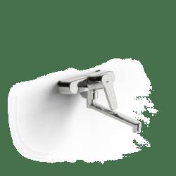 Køb Oras Saga 3937 køkkenarmatur til vægmontering 200 mm svingtud