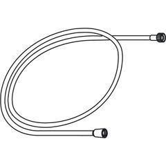 Køb Oras bruseslange 1500 mm hvid konisk | 738143320